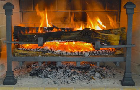 fireplace log grate log on to a smarter fireplace grate best fireplace