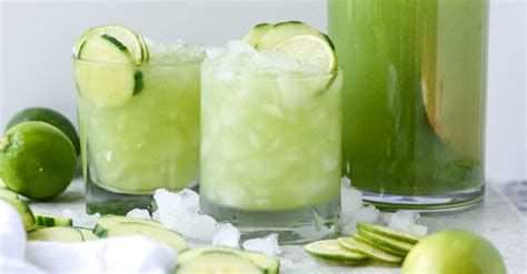10 Refreshing Summer Cocktail Recipes To Help You Keep Your Cool by The Best Cucumber Recipes For Refreshing Cocktails And