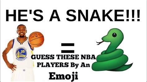 guess nba team  emoji  basketball scores info