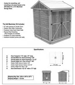 outdoor living today 6x6 maximizer storage shed max66