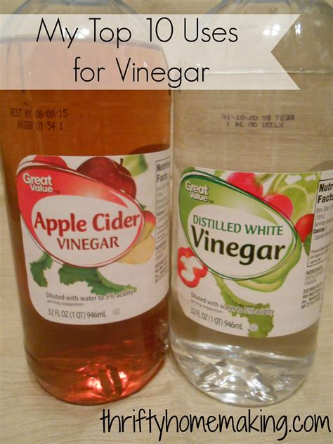 Top 10 Vinegar Uses   Laura Sue Shaw