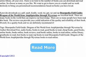 Dracopedia Field Guide  Dragons Of The World From