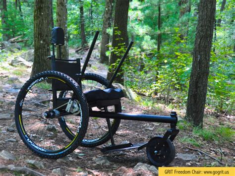 singletrack magazine freedom chair takes wheelchair