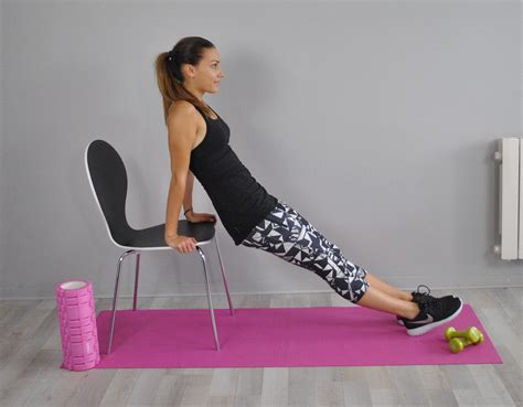 la chaise musculation exercices de musculation avec chaise 28 images