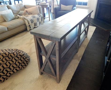 johnson rustic  console table