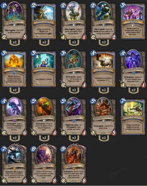 Mage Deck Hearthstone Ungoro by Deck Mage Tgt Kibler Hearthstone Heroes Of