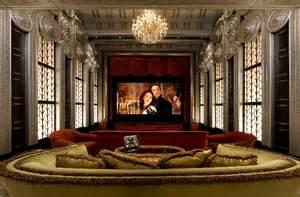 Art Deco Home Theater