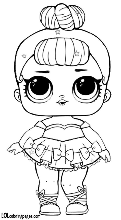 pin  anya amir  lol suprise coloring lol dolls baby