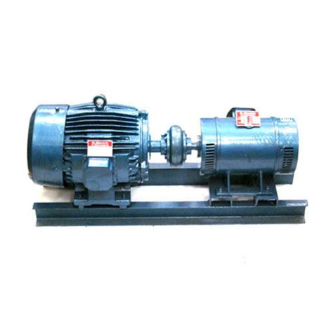 Electric Motor And Generator by Dc To Ac Motor Generator Set At Rs 95000 M G Set