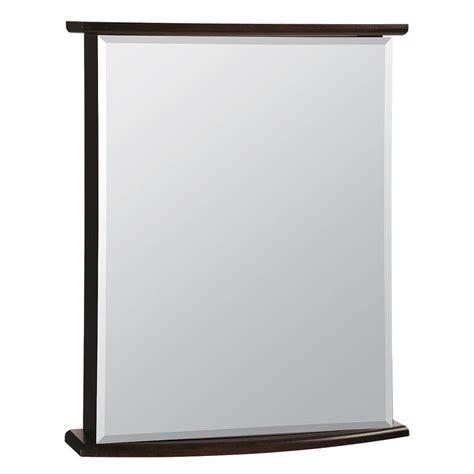 glacier bay 22 in w x 27 3 4 in h frameless surface mount bathroom medicine cabinet in java