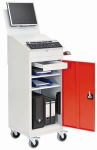 Mobiler Pc Tisch : computerwagen ~ Frokenaadalensverden.com Haus und Dekorationen