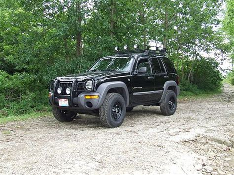 jeep liberty roof lights really want to do this to mine jeep liberty brush guard