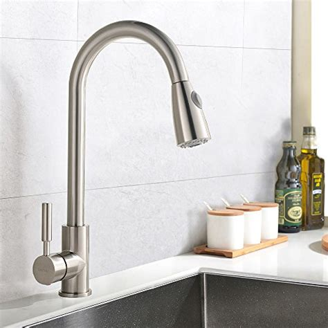 industrial kitchen sink faucet best commercial stainless steel single handle pull