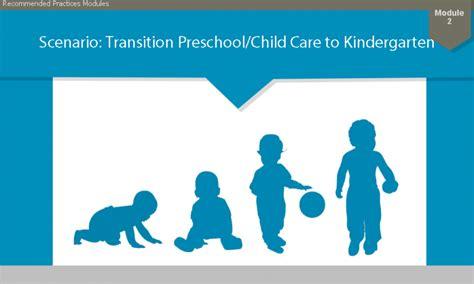 activity  scenario based transition  preschool