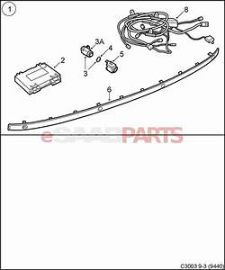 32025903  Saab Saab Parking Assistance  Spa  Backup