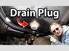 How to Fix Oil Drain Plug Leak in Your Car YouTube