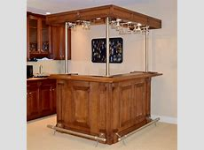 Indoor LShaped Bar Unit with Lighted Canopy EBTH