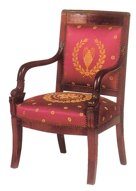 the empire style learn all about the empire armchair