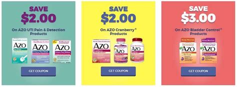 66153 Azo Urinary Relief Coupon by Print Now New Azo Coupons As Low As 1 50 Per Box
