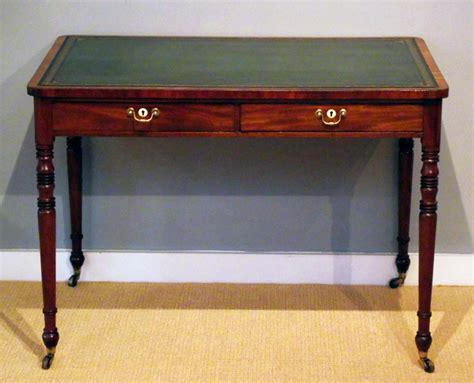 antique writing desks uk antique writing table regency mahogany library table