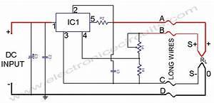 L200 Power Supply Regulator With Sense Lines Circuit Diagram