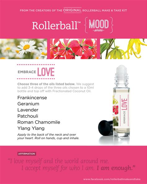 embrace love rollerball mood series