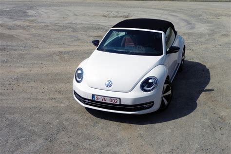 vw beetle cabrio werksangehã rigen vw beetle cabrio 1 4 tsi auto55 be tests
