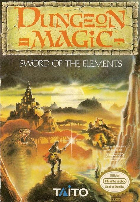 dungeon magic sword   elements  nes  mobygames