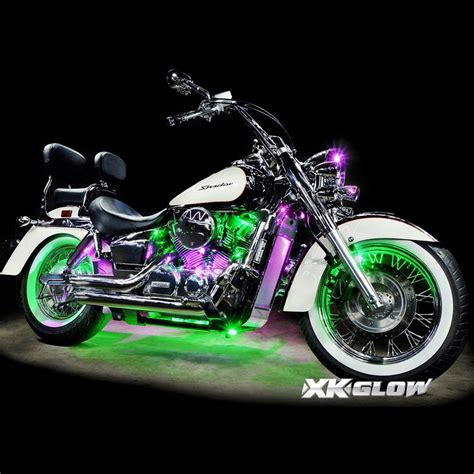 underglow lights for motorcycles 12 pod ios android app wifi control led motorcycle led