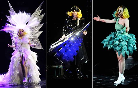 lady gagas crazy monster ball  costumes instylecom