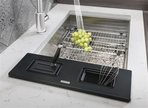 blanco sink protector stainless steel blanco quatrus stainless steel sink accessory collection