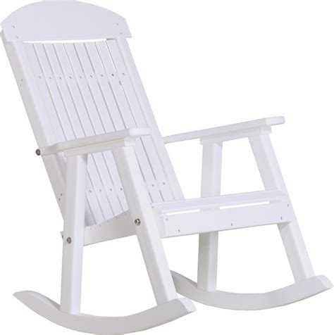 outdoor poly porch rocker style outdoor rocking