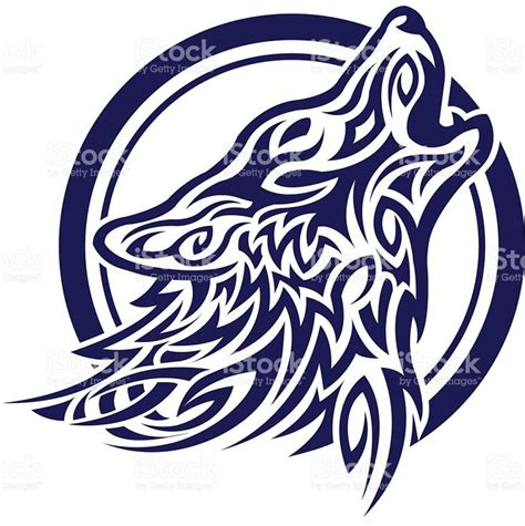 celtic wolf tattoo ideas  pinterest awesome