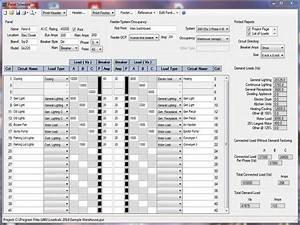panel schedule template download free premium With electrical panel schedule template pdf