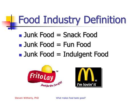 cuisine meaning ppt why humans like junk food powerpoint presentation