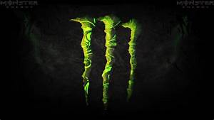 Monster Energy Logo Wallpaper Image Wallpaper WallpaperLepi