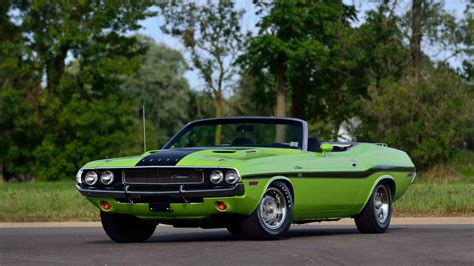 dodge hemi challenger rt convertible