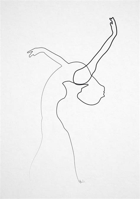 Amazing One-Line Illustrations Made With A Single