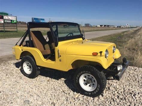 1970 Jeep Wrangler Cj5 For Sale