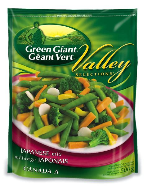 Green Giant Frozen Vegetables - Valley Selections Japanese ...
