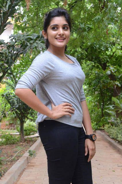 niveda thomas latest hot spicy glamour photoshoot images at gentleman movie interview niveda