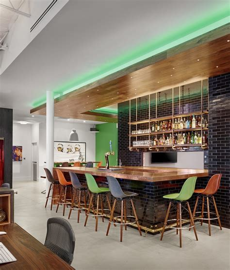Office Bar by Take A Tour Of Thechive S Awesome Headquarters