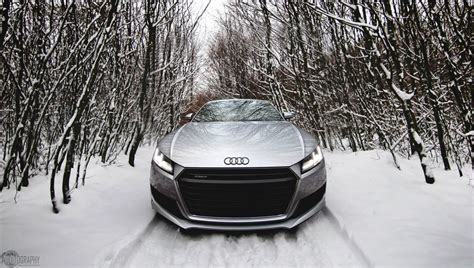 audi tt   perfect snow angel carscoops
