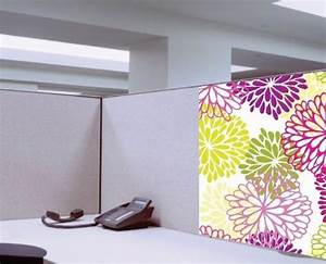 Dream Cubicle Easy Stick Polyester Fabric Cubicle ...