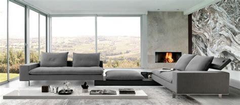 canape d angle blanc et gris le canapé design italien en 80 photos pour relooker le salon