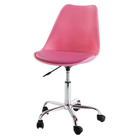 chaise de à roulettes chaise de bureau à roulettes bristol maisons du monde