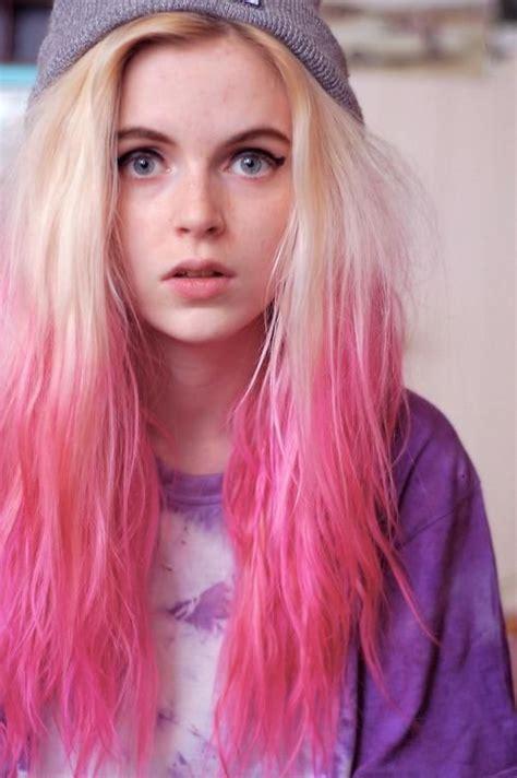 Pink Dip Dye Pink Ombre Hair Pinterest Dip Dye Pink