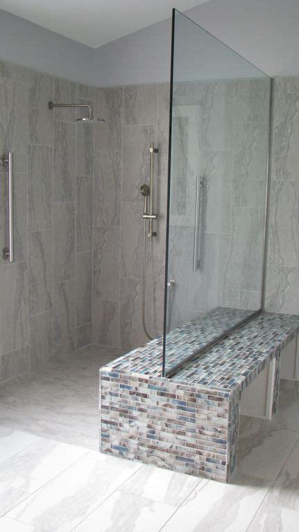 airy transparent bathrooms  door  walk  shower