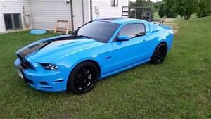 2014 Ford mustang GT grabber blue for sale: photos, technical specs, description