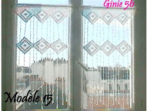 modele rideau crochet gratuit modele crochet rideau gratuit 9